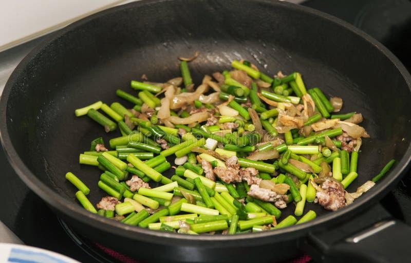 Ανακατώστε τα λαχανικά τηγανητών στοκ φωτογραφίες