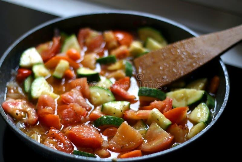 Ανακατώστε τα λαχανικά τηγανητών στοκ φωτογραφία με δικαίωμα ελεύθερης χρήσης