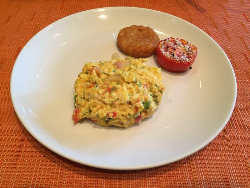 Ανακατώστε το αυγό είναι μεγάλος για το πρόγευμα στοκ φωτογραφία με δικαίωμα ελεύθερης χρήσης