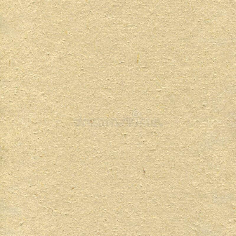 Ανακυκλωμένο μπεζ υπόβαθρο σύστασης εγγράφου τέχνης της Tan, τσαλακωμένο χειροποίητο τραχιού ρυζιού αχύρου τεχνών σχέδιο κινηματο στοκ φωτογραφία