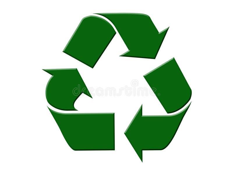 ανακυκλώστε το σύμβολο στοκ φωτογραφία με δικαίωμα ελεύθερης χρήσης