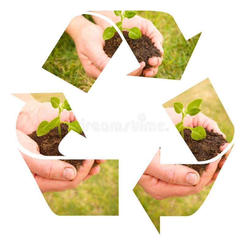 ανακυκλώστε το χώμα ελεύθερη απεικόνιση δικαιώματος