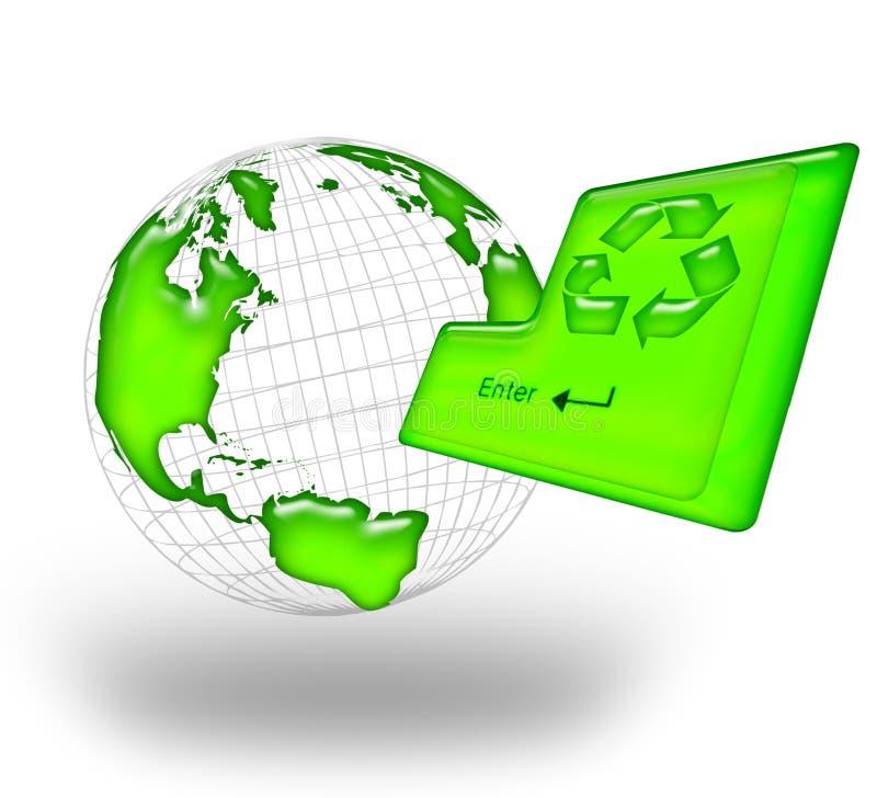 ανακυκλώστε διανυσματική απεικόνιση