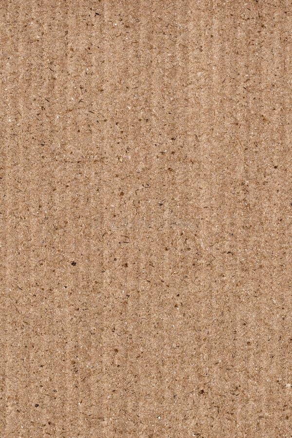 Ανακυκλωμένη καφετιά ζαρωμένη σύσταση υποβάθρου Grunge φύλλων φίμπερ χονδροειδής στοκ εικόνα