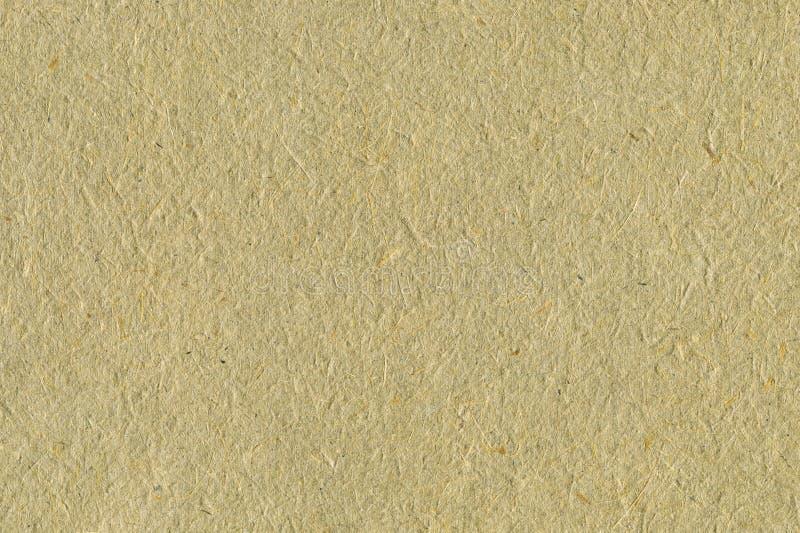 Ανακυκλωμένο εγγράφου σύστασης υποβάθρου χλωμό της Tan μπεζ σεπιών κατασκευασμένο μακρο κινηματογραφήσεων σε πρώτο πλάνο οριζόντι στοκ εικόνα