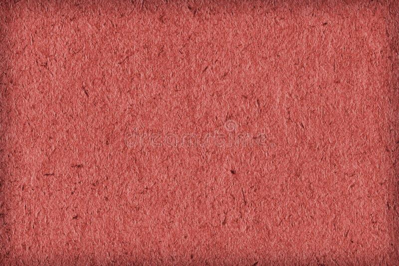 Ανακυκλώστε εγγράφου το ελαφρύ δείγμα σύστασης Grunge σύντομων χρονογραφημάτων χονδροειδούς σιταριού της Κίνας κόκκινο πρόσθετο στοκ εικόνα με δικαίωμα ελεύθερης χρήσης