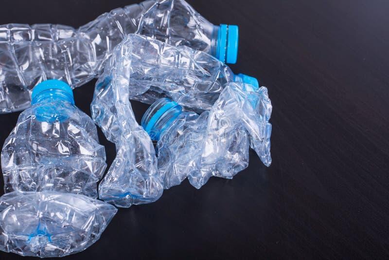 Ανακυκλώστε τα μπουκάλια χρησιμοποιούμενα στοκ φωτογραφίες με δικαίωμα ελεύθερης χρήσης