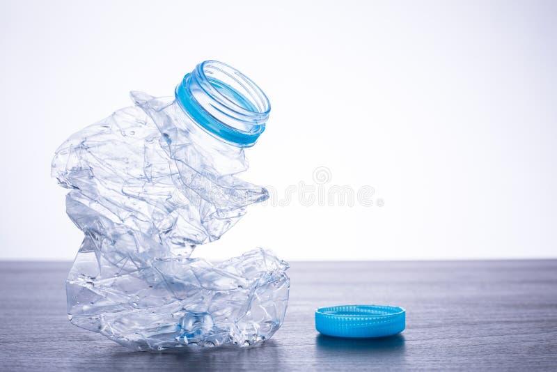 Ανακυκλώστε τα μπουκάλια χρησιμοποιούμενα στοκ εικόνα