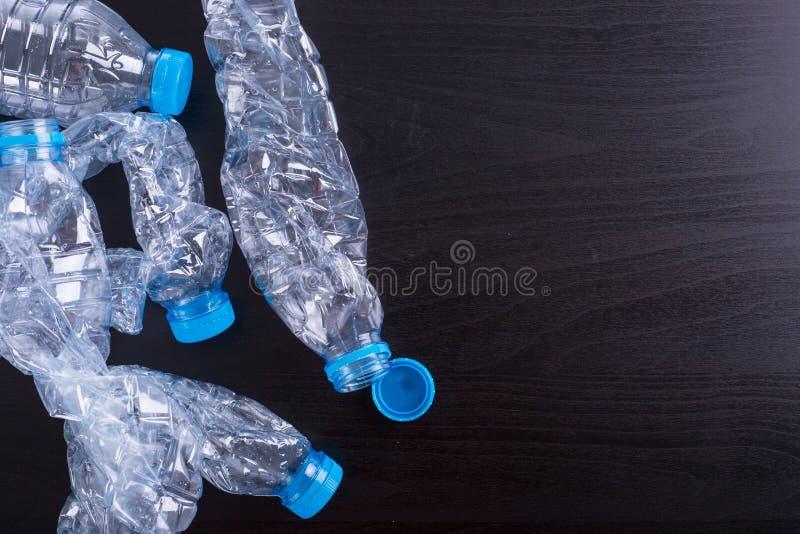 Ανακυκλώστε τα μπουκάλια χρησιμοποιούμενα στοκ φωτογραφία
