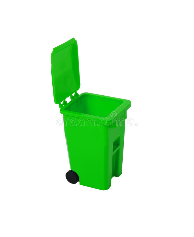 ανακύκλωση δοχείων στοκ φωτογραφία