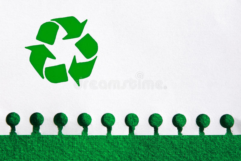 ανακύκλωση εγγράφου στοκ φωτογραφίες με δικαίωμα ελεύθερης χρήσης