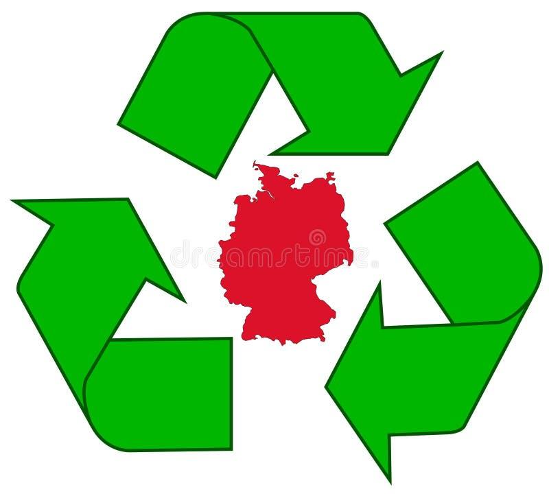 ανακύκλωση της Γερμανία&sigma απεικόνιση αποθεμάτων