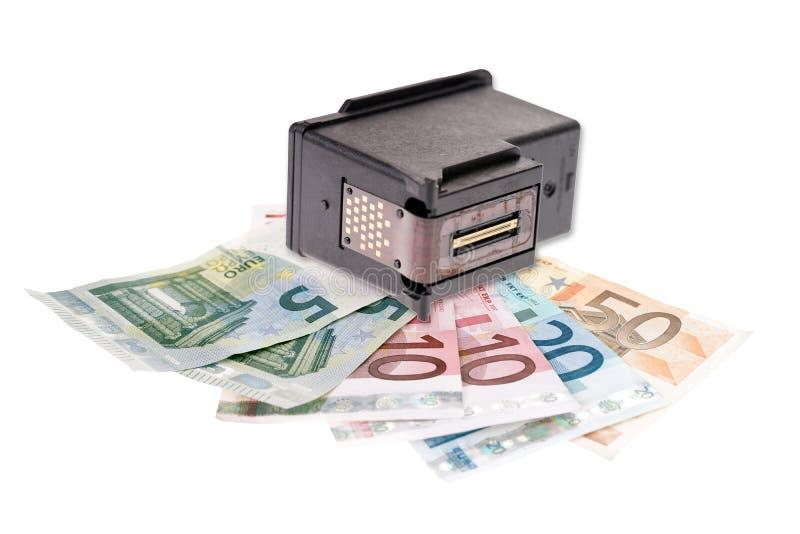 Ανακύκλωση δοχείων του εκτυπωτή στοκ φωτογραφίες με δικαίωμα ελεύθερης χρήσης