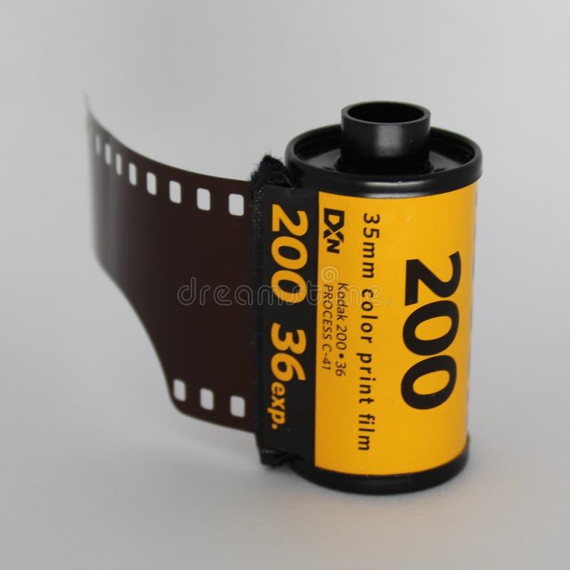 Αναλογική ταινία 200 - 36 της Kodak στοκ εικόνες με δικαίωμα ελεύθερης χρήσης