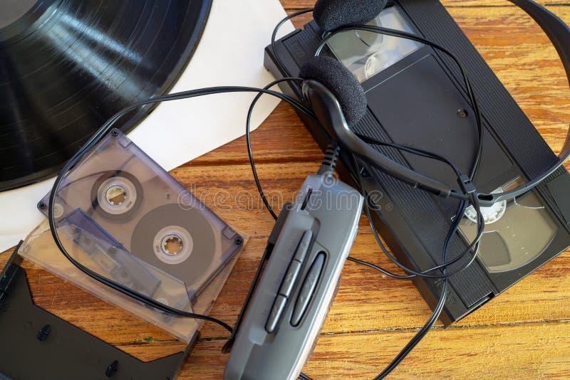 Αναλογική τεχνολογία της δεκαετίας του '80 στοκ φωτογραφίες με δικαίωμα ελεύθερης χρήσης