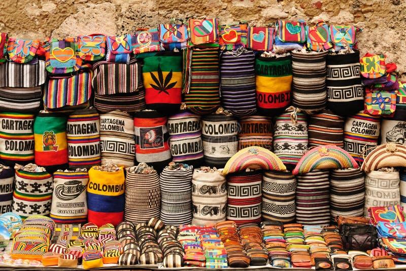 Αναμνηστικά από την Κολομβία στοκ εικόνες