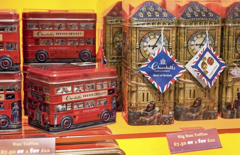 Αναμνηστικά του Λονδίνου στοκ εικόνες