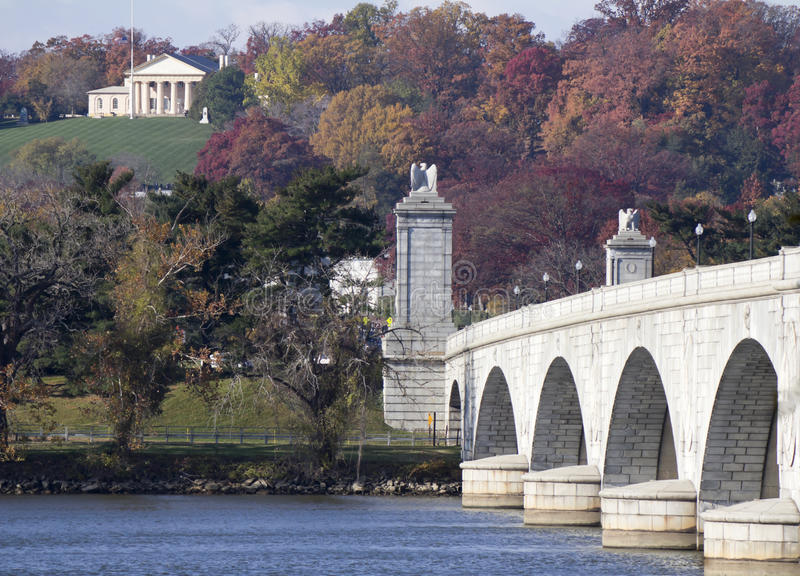 Αναμνηστική γέφυρα στοκ εικόνες
