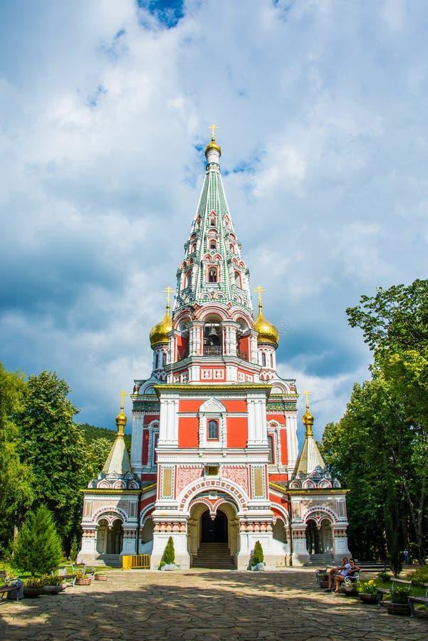 Αναμνηστική εκκλησία Shipka στοκ φωτογραφία με δικαίωμα ελεύθερης χρήσης