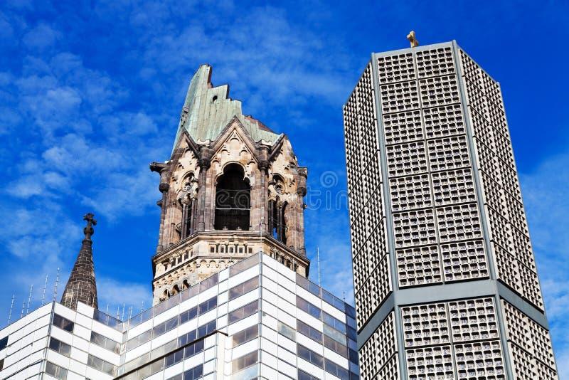 Αναμνηστική εκκλησία του Wilhelm Kaiser στοκ φωτογραφία
