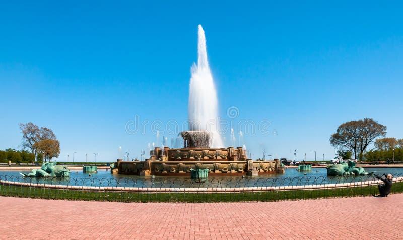 Αναμνηστική πηγή του Σικάγου Buckingham στοκ εικόνες με δικαίωμα ελεύθερης χρήσης