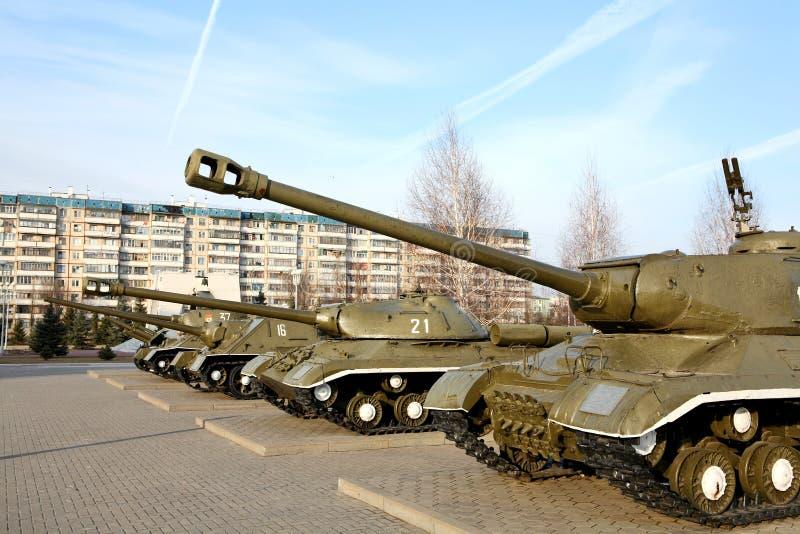 αναμνηστική ρωσική δεξαμενή στη νίκη wwii στοκ φωτογραφία με δικαίωμα ελεύθερης χρήσης