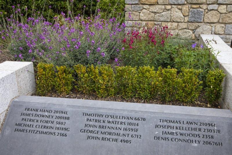 Αναμνηστικός κήπος Garda στο Δουβλίνο Castle στο Δουβλίνο στοκ εικόνες με δικαίωμα ελεύθερης χρήσης