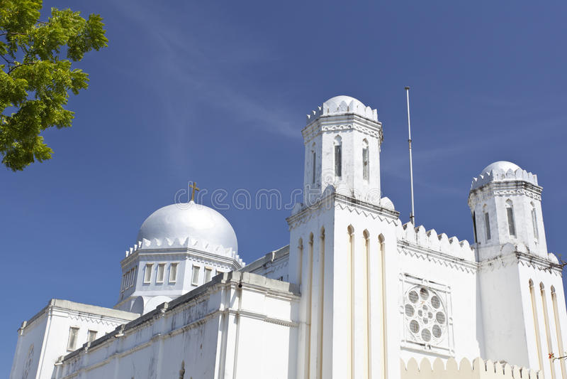 Αναμνηστικός καθεδρικός ναός της Μομπάσα, Κένυα στοκ εικόνα με δικαίωμα ελεύθερης χρήσης