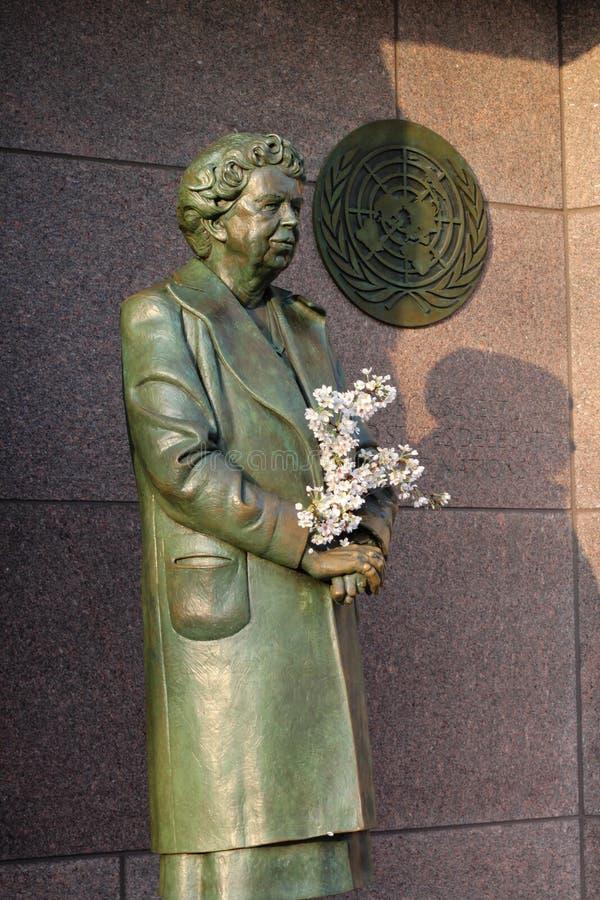 αναμνηστικό γλυπτό Ουάσιγκτον roosevelt συνεχούς eleanor στοκ φωτογραφία με δικαίωμα ελεύθερης χρήσης