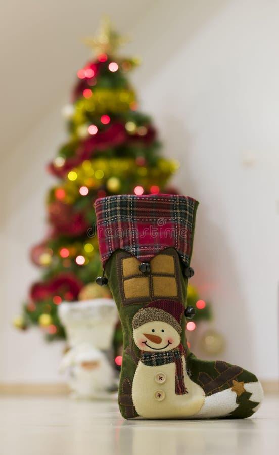 Αναμνηστικό με το χιόνι για τα Χριστούγεννα στοκ εικόνες με δικαίωμα ελεύθερης χρήσης