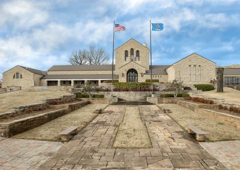 Αναμνηστικό μουσείο Rogers, Claremore, Οκλαχόμα στοκ εικόνα