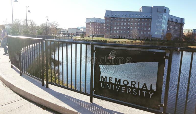 Αναμνηστικό πανεπιστήμιο στοκ φωτογραφίες με δικαίωμα ελεύθερης χρήσης