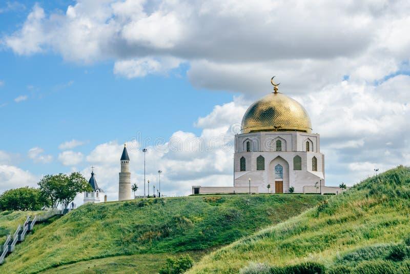 Αναμνηστικό σημάδι σε Bolgar, Ρωσία στοκ εικόνες