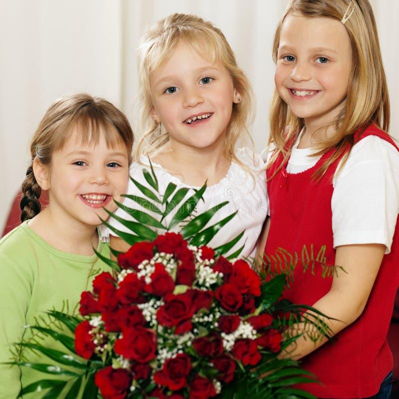 αναμονή μητέρων λουλουδ&i στοκ εικόνες με δικαίωμα ελεύθερης χρήσης