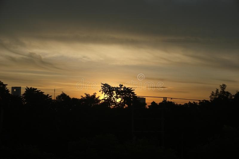 Αναμονή τον ουρανό πριν από την αυγή αριθ. 2 στοκ εικόνες με δικαίωμα ελεύθερης χρήσης