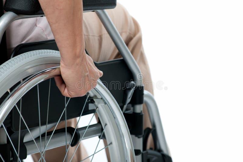 αναπηρική καρέκλα στοκ φωτογραφία με δικαίωμα ελεύθερης χρήσης