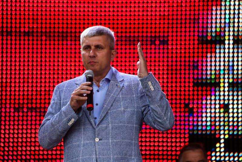 Αναπληρωτής ανθρώπων της Ουκρανίας Pavlov Konstantin στοκ εικόνα