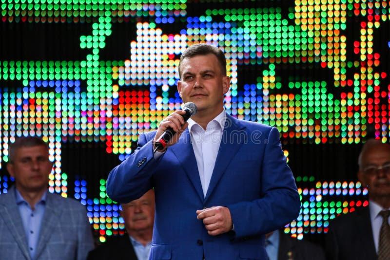 Αναπληρωτής ανθρώπων της Ουκρανίας Pavlov Konstantin στοκ εικόνες
