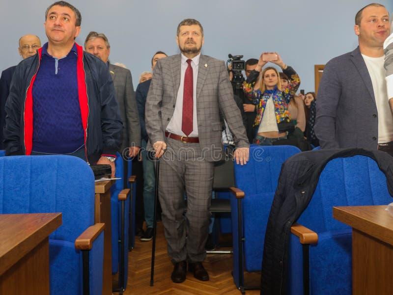 Αναπληρωτής ανθρώπων ` s της Ουκρανίας Ihor Mosiychuk στοκ φωτογραφία με δικαίωμα ελεύθερης χρήσης