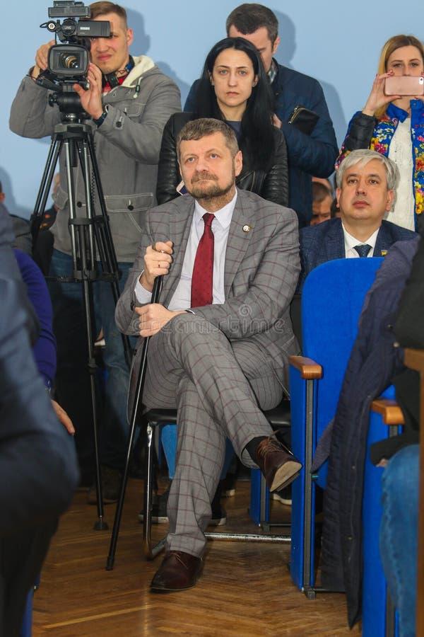Αναπληρωτής ανθρώπων ` s της Ουκρανίας Ihor Mosiychuk στοκ φωτογραφία