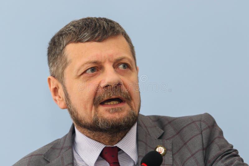 Αναπληρωτής ανθρώπων ` s της Ουκρανίας Ihor Mosiychuk στοκ εικόνα με δικαίωμα ελεύθερης χρήσης