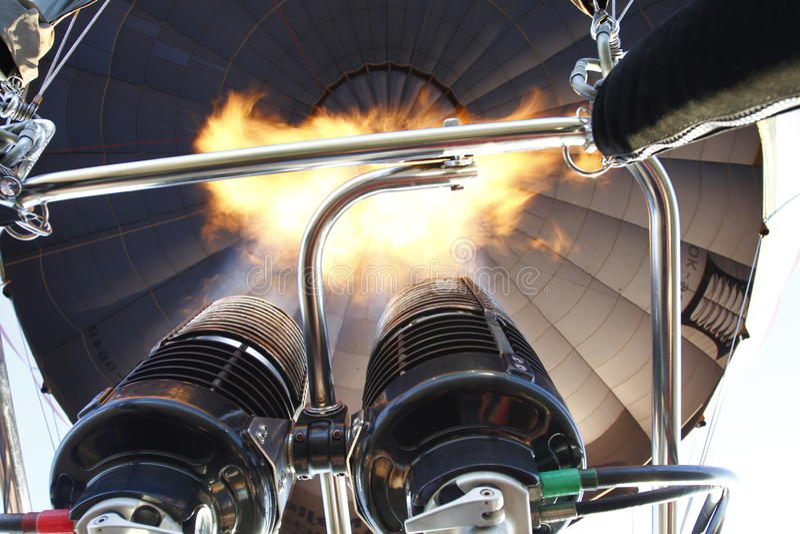 Αναπτήρας μπαλονιών ζεστού αέρα στοκ φωτογραφία