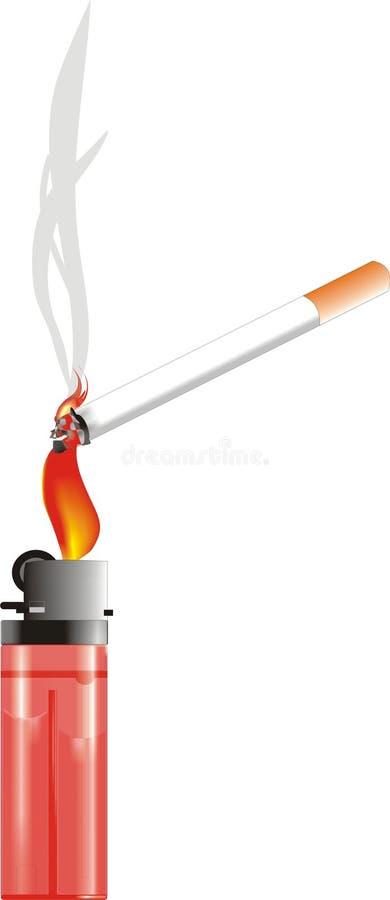 Αναπτήρας Sigarets στοκ εικόνες με δικαίωμα ελεύθερης χρήσης