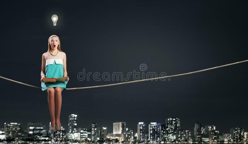 Αναπτύξτε τη φαντασία σας! στοκ εικόνα