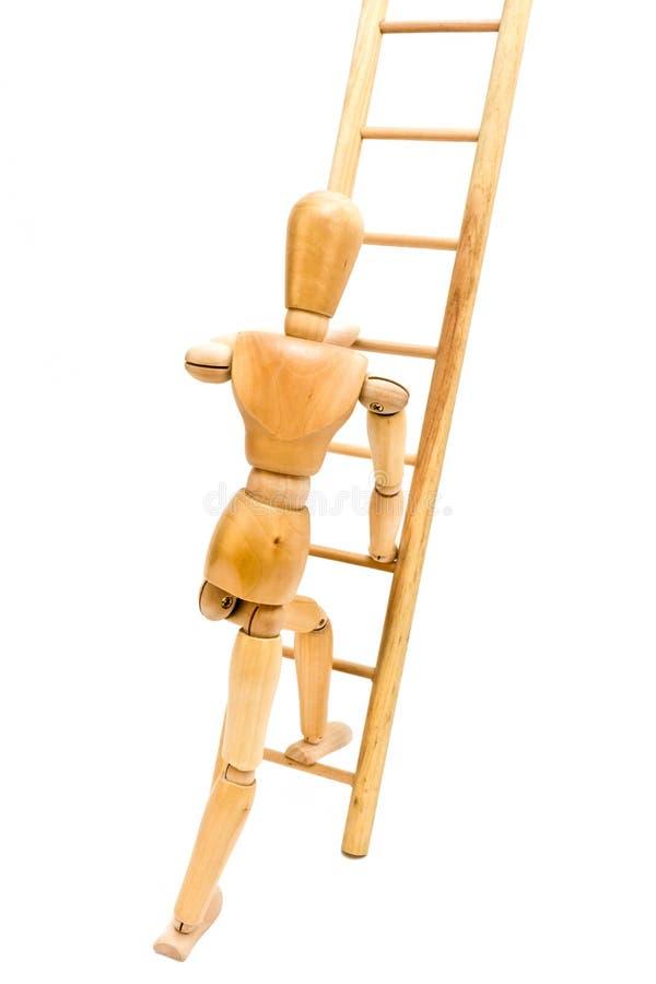 αναρρίχηση της σκάλας στοκ φωτογραφία με δικαίωμα ελεύθερης χρήσης