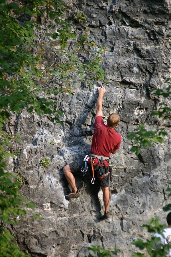 αναρρίχηση του βράχου Utah στοκ φωτογραφία με δικαίωμα ελεύθερης χρήσης