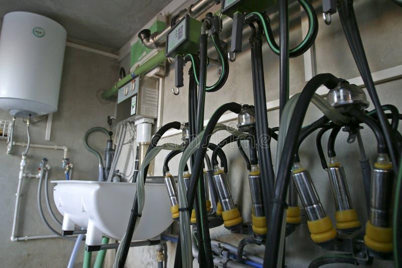 αναρρόφηση αρμέγματος μηχανών στοκ φωτογραφία με δικαίωμα ελεύθερης χρήσης