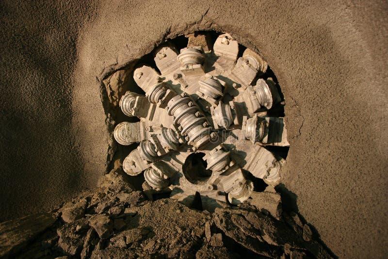 Ανασκαφή σηράγγων στοκ φωτογραφίες
