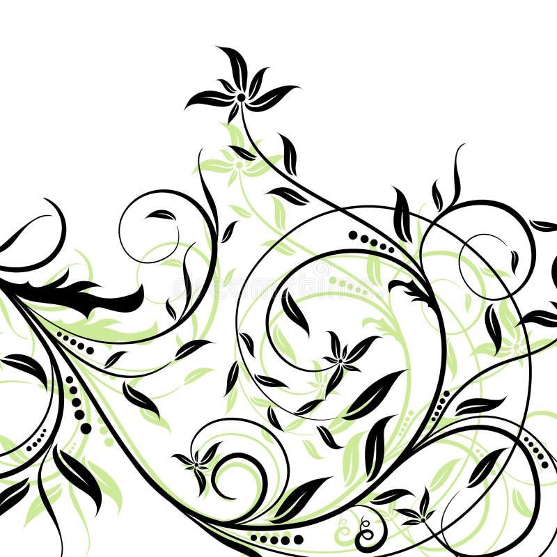 ανασκοπήσεις floral ελεύθερη απεικόνιση δικαιώματος