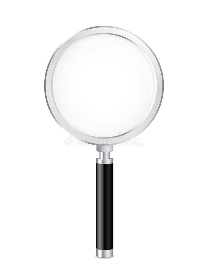 ανασκόπησης διανυσματικό λευκό ενίσχυσης γυαλιού απομονωμένο απεικόνιση ελεύθερη απεικόνιση δικαιώματος